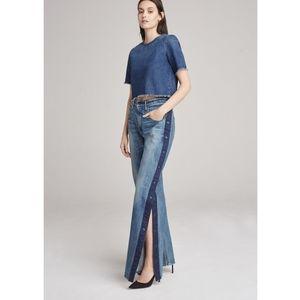 3x1 | NWT High Waist Joy Snap Away Flare Leg Jeans